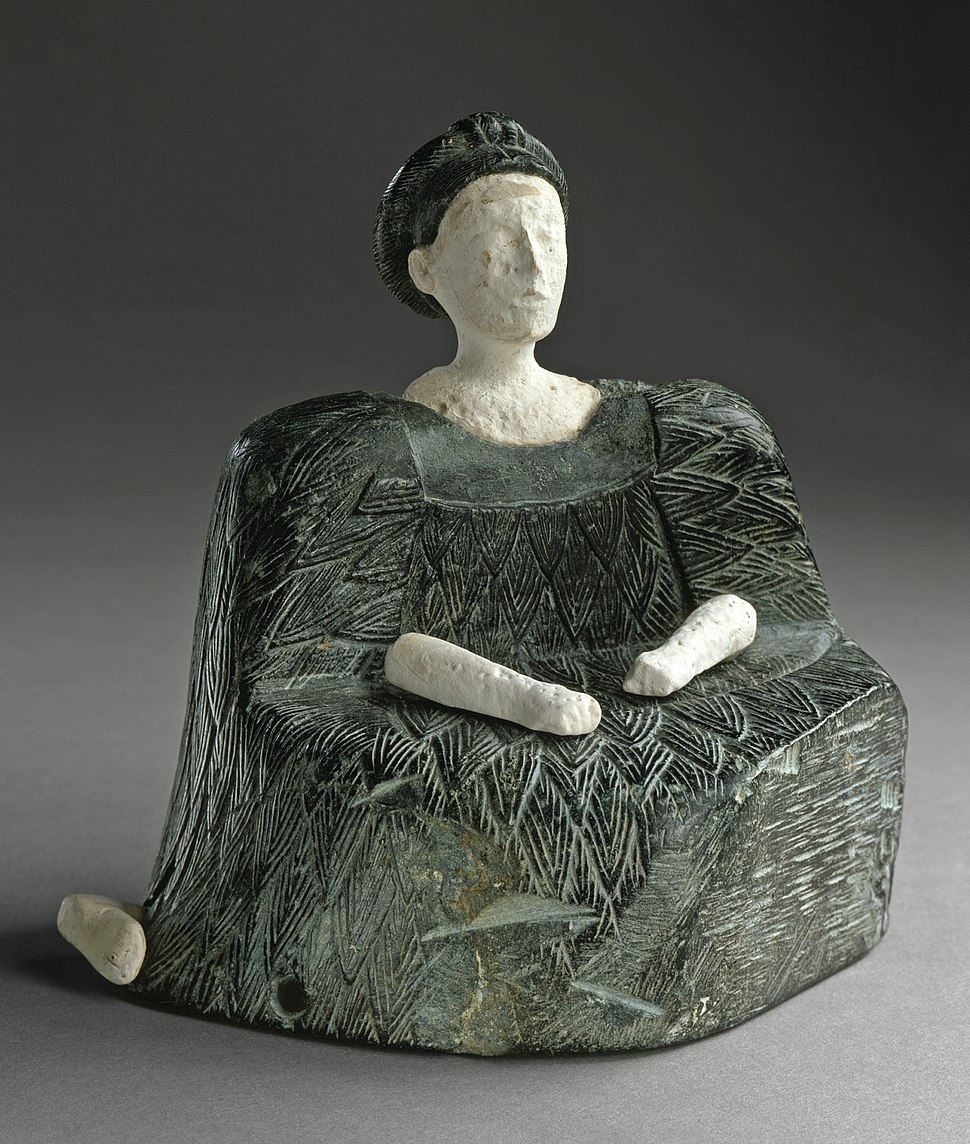 Seated Female Figure LACMA M.2000.1a-f (1 of 3)
