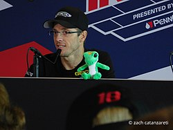 Sebastien Bourdais 2017 Indianapolis 500 press conference.jpg