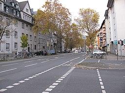 Weidenbornstraße in Frankfurt am Main