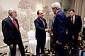 Secretary John Kerry Shakes Hands With Advisers to Libyan Prime Minister al-Sarraj at the Bristol Hotel in Vienna (26774170730).jpg