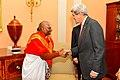 Secretary Kerry Greets Hindu Priest Narayanachar L. Digalakote.jpg