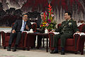 Secretary of Defense Leon E. Panetta meets with Vice Chairman of the Central Military Commission Gen. Xu Caihou in Beijing, China, on Sept 120918-D-BW835-863.jpg