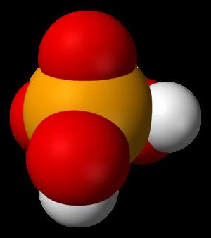 Selenic acid - Image: Selenic acid 3D vd W