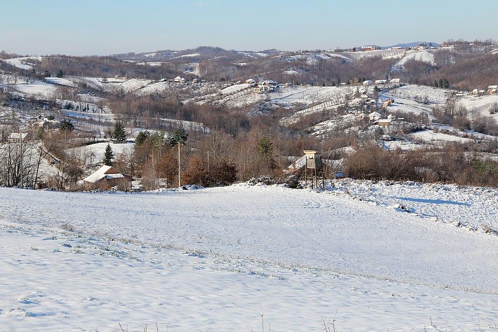 Selo Ogladjenovac - opština Valjevo - zapadna Srbija - panorama 19