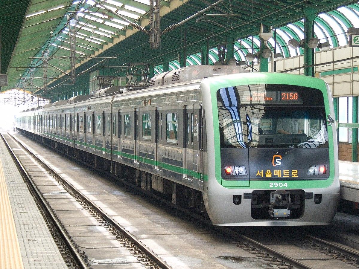 kereta bawah tanah korea (saungkorea.com)