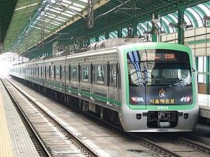 Seoul Subway Line 2 - Image: Seoul Metro 2004 20070722