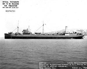 USS Sepulga (AO-20) - Image: Sepulga (AO 20)