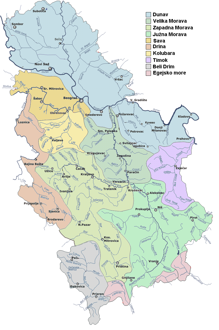 Serbia drainage basins detailed (sr)