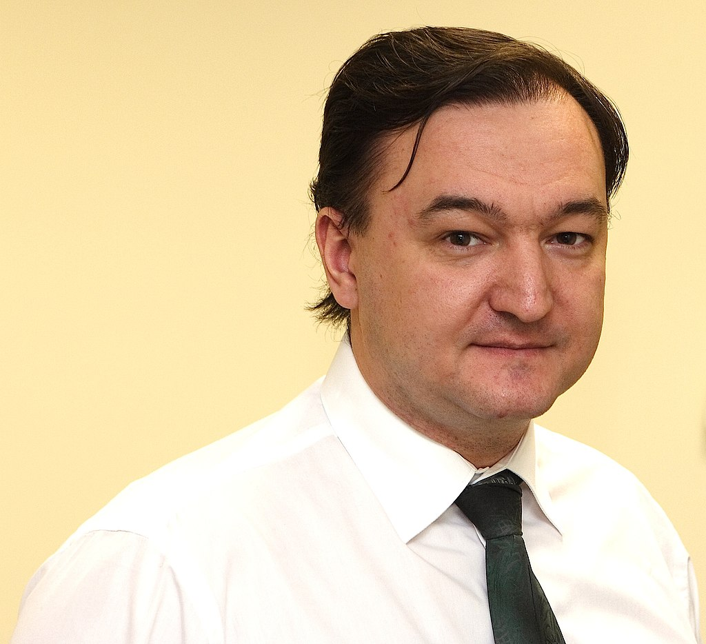 Sergei Magnitsky, the Russian lawyer for Bill Browder, whose murder in 2007 invited economic sanctions against Russia, and especially Russian leader Vladimir Putin and his money-moving colleagues. Those sanctions angered Putin so much, he worked to swing the 2016 presidential election against Hillary Clinton.