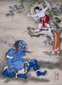 Sessen-Doji-Offers-His-Life-Ogre-Oni-1764-Soga-Shohaku.png