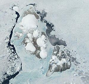NASA image of the archipelago