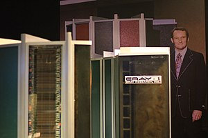 Seymour Cray - With a Cray-1