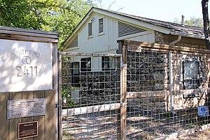 """Seymour Fogel - Fogel's home """"Southwind"""" in Austin."""
