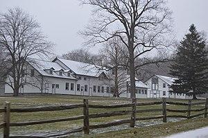 Hunting Valley, Ohio - Scene on Shaker Boulevard east of SOM Center Road