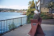 Shallow-draft tugboat propeller from the Arctic Bear at North Passage Point Park.JPG