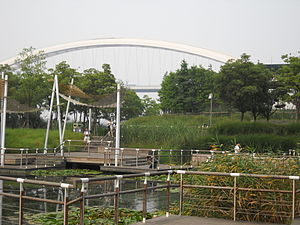 Shanghai Expo Park - The park in 2012