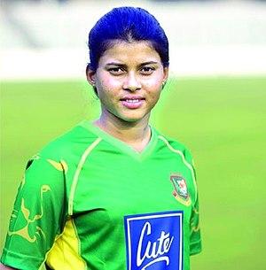 Sharmin Akhter - Bangladesh Women's Cricket Batsman Sharmin Akhter