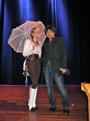 Monty Oum - Sheena and Monty Oum at PAX West 2014