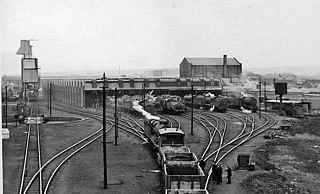 Darnall engine shed Disused railway maintenance depot in Darnall, Sheffield