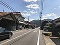 Shimane Prefectural Road No.13 in Morimura, Tsuwano, Kanoashi, Shimane 5.jpg