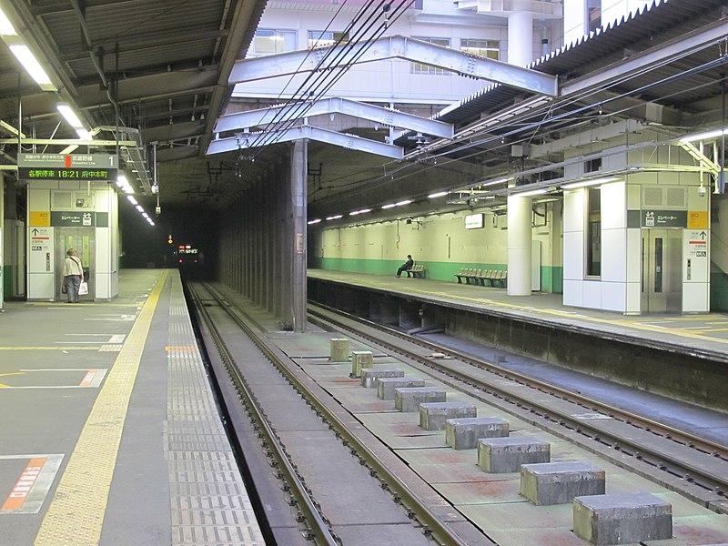 File:Shin-Kodaira Station Kodaira Tunnel 20100505.jpg