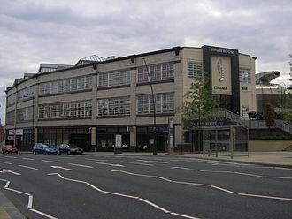 Showroom Cinema, Sheffield - The Showroom/Workstation building.