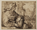 Sibyl Seated Among Classical Ruins, Jacob Matham.png