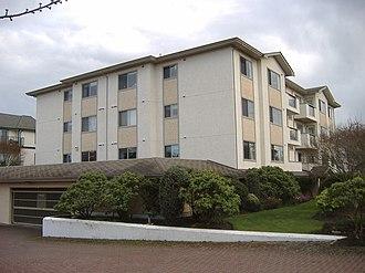 Sidney, British Columbia - Typical condominium architecture in Sidney.