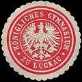 Siegelmarke Königliches Gymnasium zu Luckau W0210795.jpg