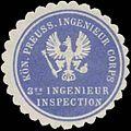 Siegelmarke K.Pr. Ingenieur Corps 3te Ingenieur Inspection W0345168.jpg