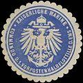 Siegelmarke K. Marine Kommando der 1. Vorpostenhalbflottille der Ems W0357568.jpg