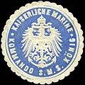 Siegelmarke Kaiserliche Marine - Kommando der S.M.S. König W0262547.jpg