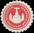 Siegelmarke Magistrat der Stadt Wittenberge W0380837.jpg
