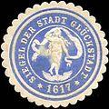 Siegelmarke Siegel der Stadt Glückstadt W0212640.jpg