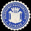Siegelmarke Stadtgemeindeverwaltung - Eltmann W0235122.jpg