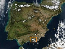 mapa de espanha serra nevada Serra Nevada (Espanha) – Wikipédia, a enciclopédia livre mapa de espanha serra nevada