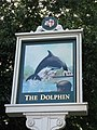 Sign for The Dolphin - geograph.org.uk - 926184.jpg