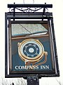 Sign for the Compass Inn - geograph.org.uk - 1671321.jpg