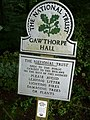 Sign on Habergham Drive - near the start of The Bronte Way - geograph.org.uk - 945117.jpg