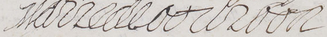 Marie de Bourbon, Countess of Soissons - Image: Signature of Marie de Bourbon (Countess of Soissons in her own right), Princess of Carignan in 1663