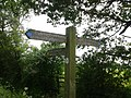 Signpost along public bridleway - panoramio.jpg