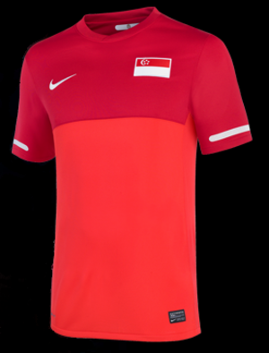 Singapore national football team - 2010 Singapore home jersey