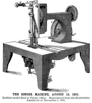 Singer Corporation - A Singer 1851 sewing machine