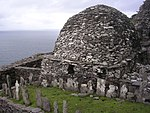 Skellig Michael - cemetery and large oratory.jpg