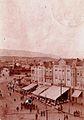 Skopje, plostad na razglednica od 1929.jpg