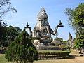 Skulptur 1 Buddha Park Vientiane Laos.jpg