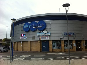 Coventry Blaze - The SkyDome Arena in Coventry, home of the Blaze
