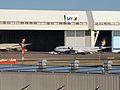 Skymark JA330A Airbus A330-343X Engine covered 201403.jpg
