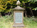 Sledmere - Memorial to Sykes Pets.JPG