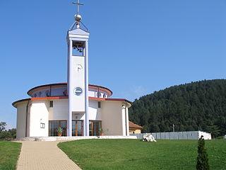 Hendrichovce Village in Slovakia
